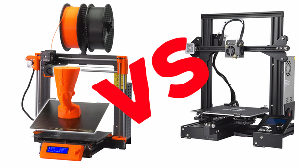 Buying a first 3D printer, Prusa or Ender?